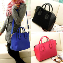 N752 2015 Hot Sale Frosted PU Leather Bag Gift High Quality New Design Women Fashion Handbag Shoulder Bags Satchel Tote Purse(China (Mainland))