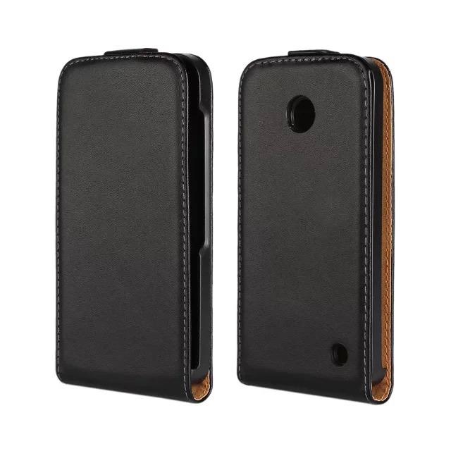 Гаджет  Luxury Genuine Real Leather Case Cover For Nokia Lumia 630 635 wholesales free shipping None Телефоны и Телекоммуникации