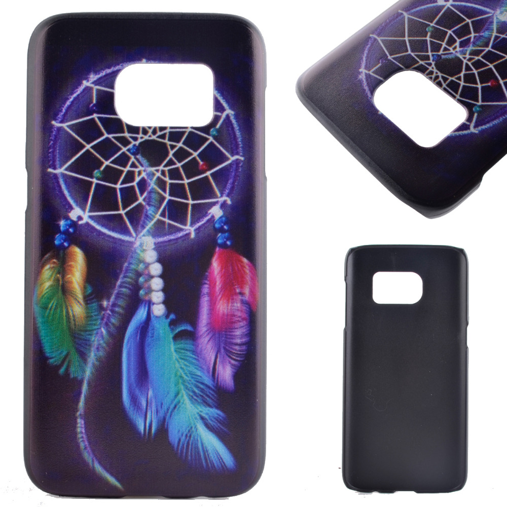 Samsung Galaxy S7 Case Smile Tooth Dream Catcher Tower Reindeer Hard Plastic Shell Back Cover - Fashion Electronic City store