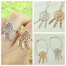 1 pcs free shipping Newest Designer Luxury Classic DreamCatcher necklace Trendy Women Jewelry Dream Catcher necklace