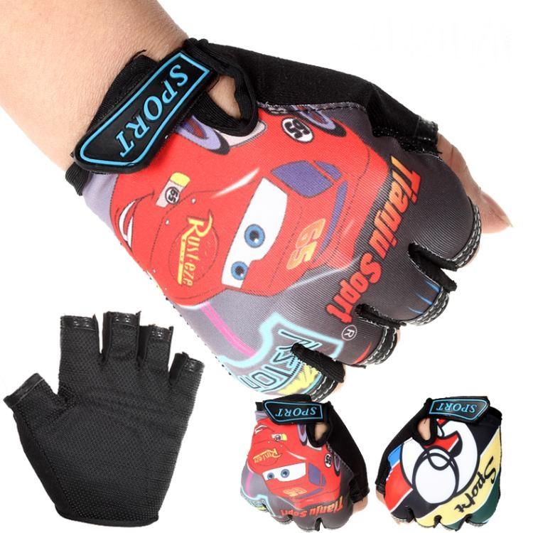 Гаджет  Children Road Bike Gloves Breathable Riding Half Finger Mountain Bicycle MTB Cycling Gloves for Kids Boys Girls Sports Gloves None Спорт и развлечения