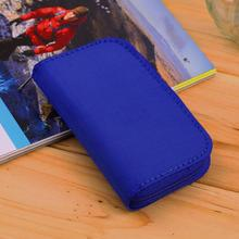 Black MMC CF Memory Card Storage Carrying Pouch card Holder Case Wallet Wholesale(China (Mainland))