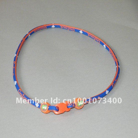 by DHL 1000pcs us college ncaa football.Florida Gators Crimson Tide single ropes titanium sport necklace WITHOUT PACKAGE(China (Mainland))