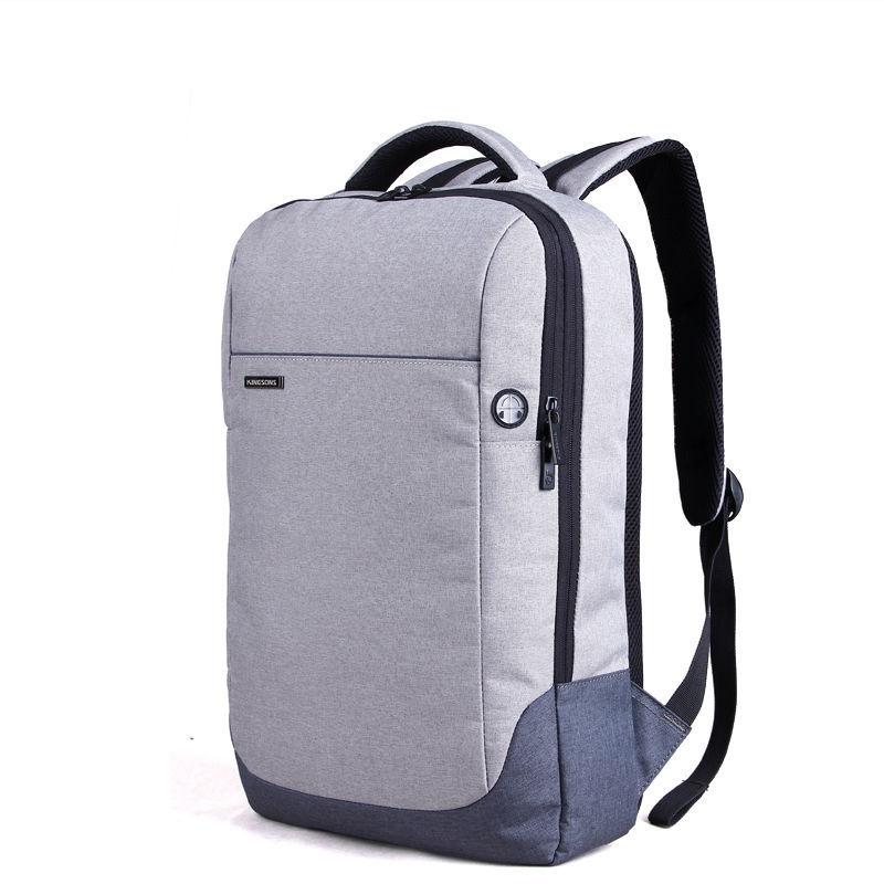 Kingsons Brand Nylon Waterproof Laptop Backpack Men Women Computer Notebook Bag 15.6 inch Laptop Bag School Bags for Boys Girls(China (Mainland))
