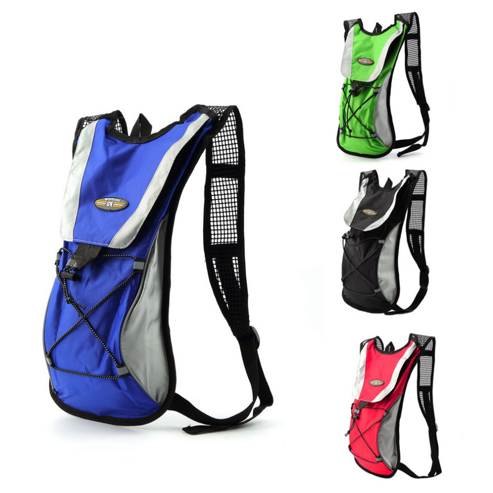 2L Outdoor Sports Hiking Camping Hydration Backpack Cycling Bicycle Bike MTB Road Rucksack Waer Bag new