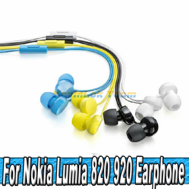 Гаджет  High Quality WH-208 Headphone For Nokia Lumia 720 800 Headset 820 600 Earphones For Nokia 900 620 Handsfree 700 920 Earpods None Бытовая электроника