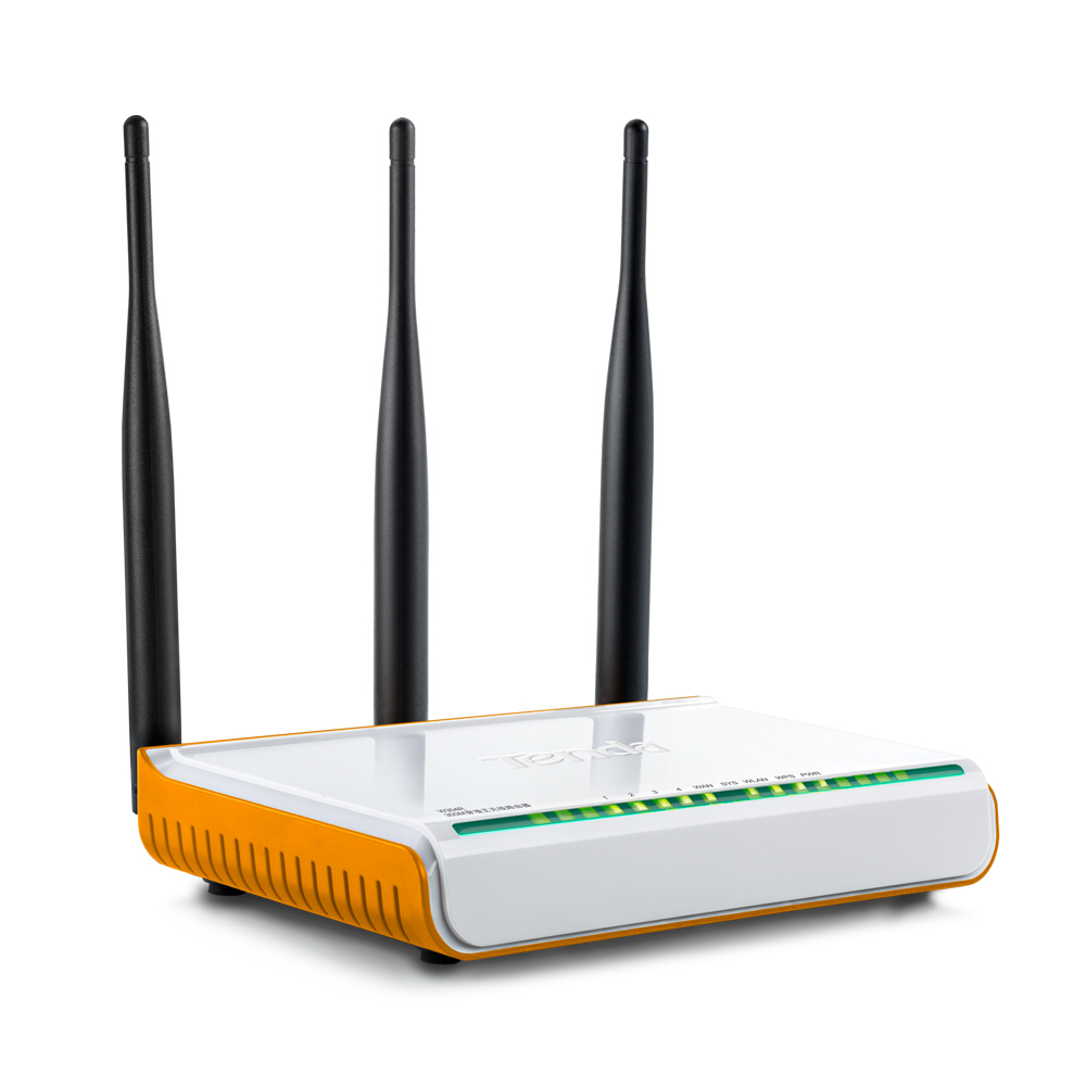 Wifi Router Russian Firmware Wireless Router 300Mbps Wifi Repeater Home Wi Fi 4 Ports 3 Antenna 5dbi Tenda W304R(China (Mainland))