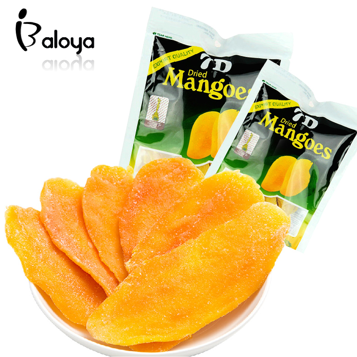 Wholesale and Retail Imported Candy Instant Snack Dried Fruit Food Philippine Dried Mango Snacks 100g 1