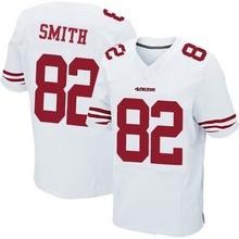 Men's #82 Torrey Smith Elite White Jersey 100% Stitched(China (Mainland))