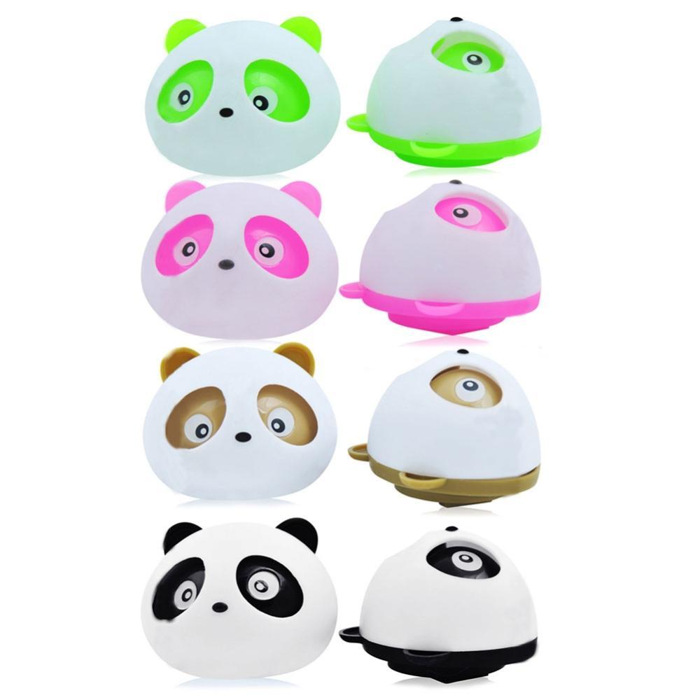 2Pcs Air Freshener Blink Lovely Mini Panda Perfume Fragrance Fragrant For Car-styling Colorful 4 Color perfumes 100 original(China (Mainland))
