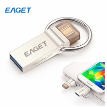 NEW! Original EAGET V90 OTG Smart Phone USB Flash Drive 64GB USB 3.0 Pen Drive 32gb for Tablet PC Micro USB Memory Stick 16gb(China (Mainland))