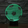 3D Football Gobos Acrylic Visual Light LED Lamp Home Table Desk Office Decoration Lamps Kid Bedroom