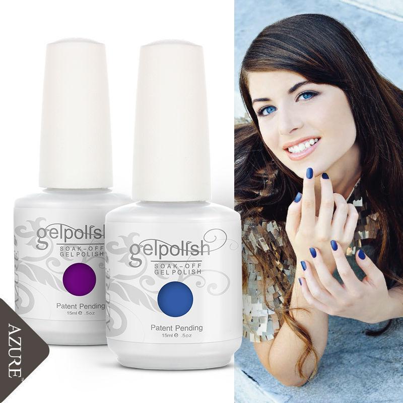 Colorful Gelpolish 15ml Soak Off Gel Nail Polish UV LED Lamp Varnish Kit Soak Off UV Gel Polish UV nail polish gel lacquer(China (Mainland))