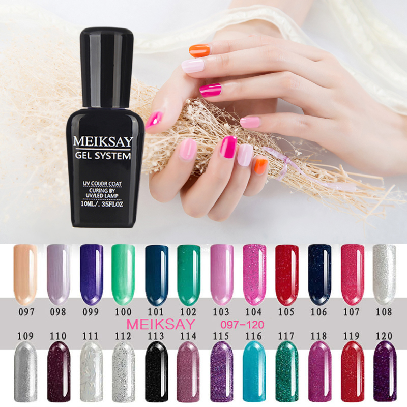 2016 Candy Color White Gel Nail Polish For French Nail Tips 10ml Nude UV Gel Long-lasting Soak-off Led UV Gel Lacquer(China (Mainland))