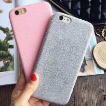 2016 Newest Plush Cases For iPhone 6 6S Dirt-Resistant Shockproof Protective Short Velvet Back Cover Phone Shell Capa Fundas(China (Mainland))