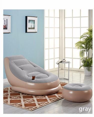 Leisure inflatable sofa Creative little sofa Nap balcony bedroom  chair