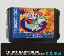 Sega 16bit MD games card: Mega Bomber Man For 16 bit Sega MegaDrive Genesis game console