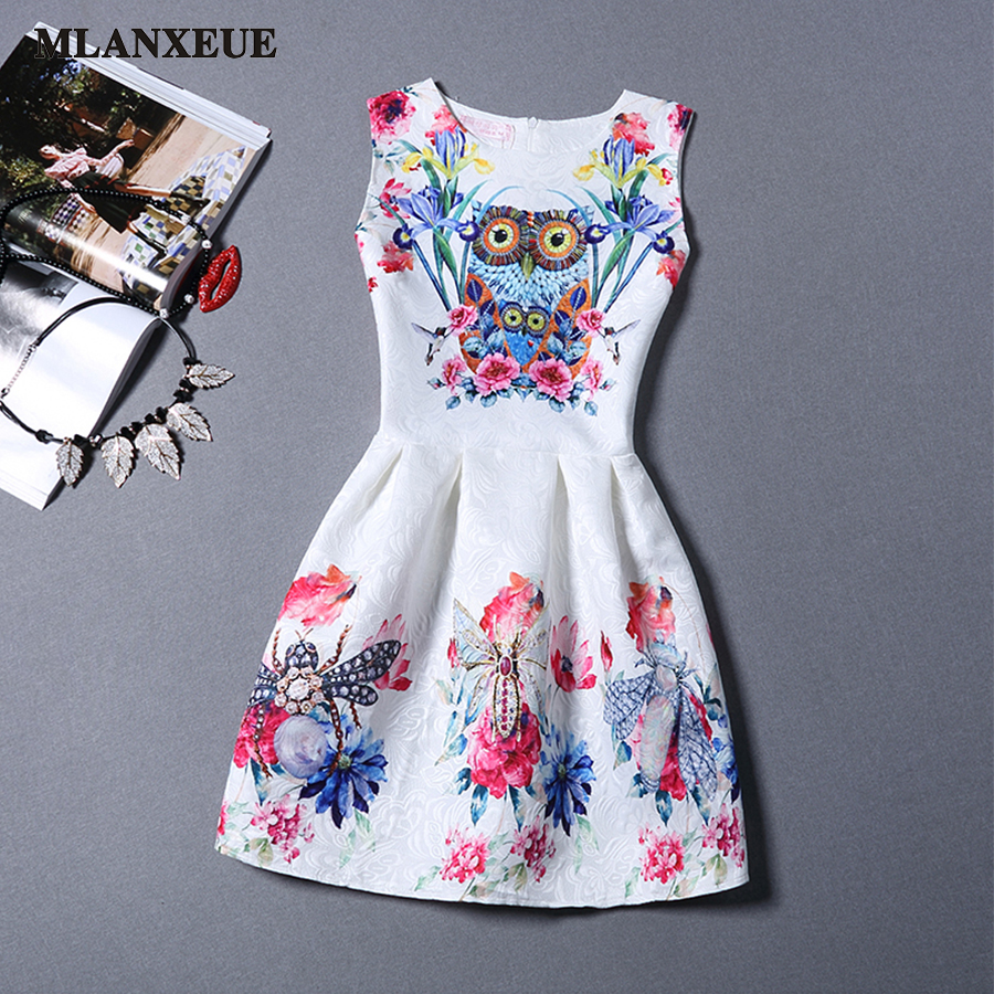 2016 New Summer Korean Fashion Style Women Dress O...