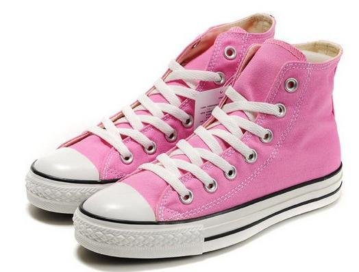 new arrival pink colour branded canvas shoes unisex