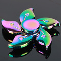 Meteor Colorful Flower Tri spinner Sale Kid Gift Hand Spinner for Autism And ADHD Reduce Stress