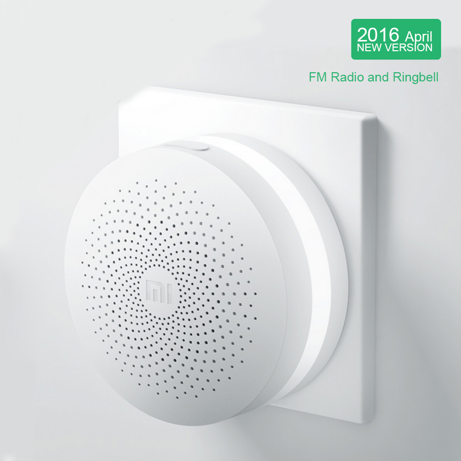 2016 100% New Original Xiaomi Intelligent Web Wifi Radio and Ringbell Smart Gateway Smart Home Automatic for Mi Home Suite 1pcs(China (Mainland))