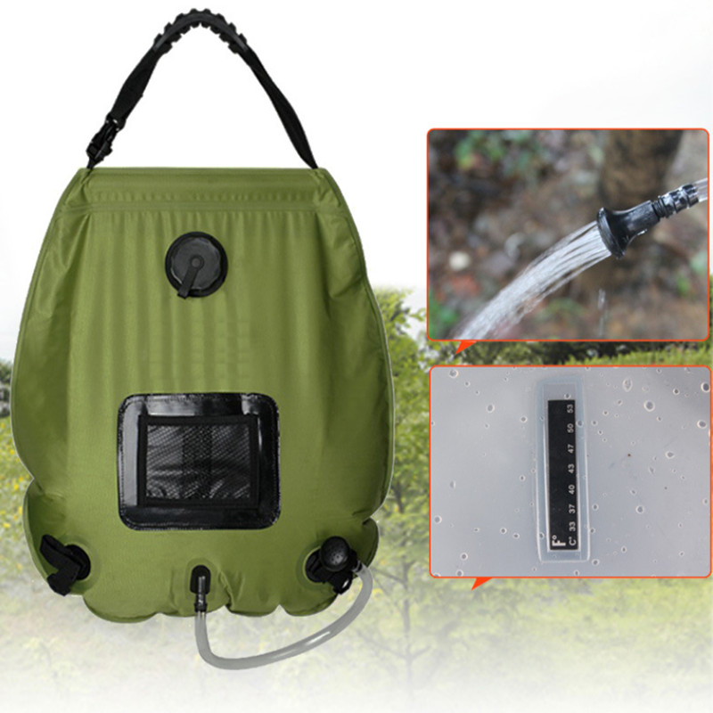 Hot Camping Shower PromotionShop for Promotional Hot Camping Shower on Aliex # Sun Shower Bag_162643