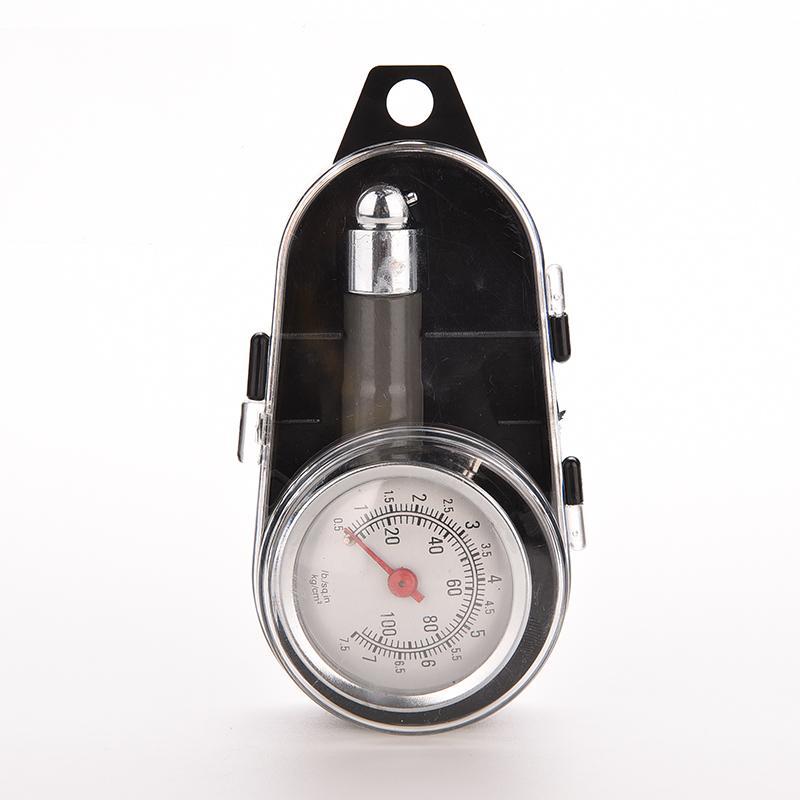 1 Pc Metal Dial Car Tire Tyre Air Pressure Gauge Tester Car Truck Manometer Motorcycle Diagnostic Test Measure Repair Tool(China (Mainland))