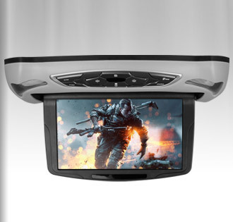 """10.1"""" Car Flip Down DVD Monitor, HDMI 1240*600 Touch Button Extra Case & headphone, Auto roof mounted Monitor headup Ceiling DVD(China (Mainland))"""