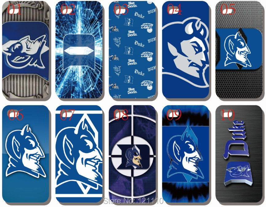 10pcs/Lot NCAA Duke Blue Devils Mobile Phone case hard Back cover Skin for Apple iphone 4 4S 5 5S 5C 6 4.7 6S plus 5.5(China (Mainland))