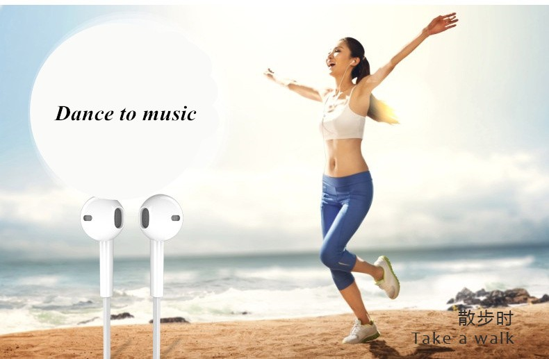 Earphone Headphone Headset Super Bass Stereo Earbuds for mobile phone MP3High quality Bass for running xiaomi iphone all phone