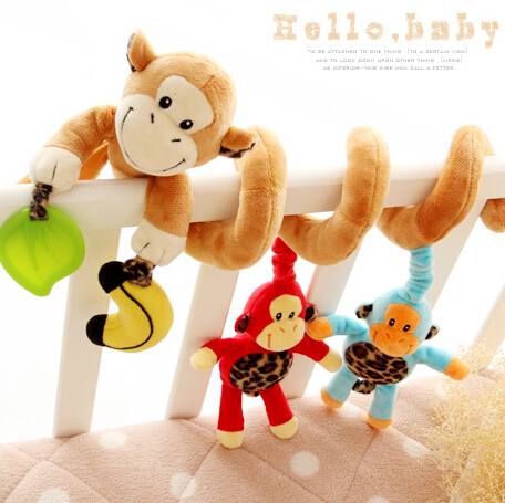 Multifunctional Car/bed/crib Hanging Bell Newborn Baby Educational Rattles/Mobile Toys for baby boys and grils(China (Mainland))