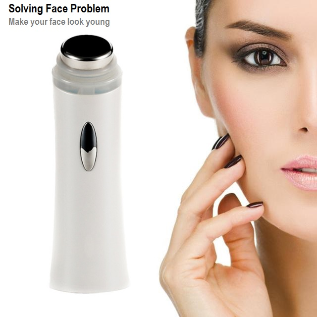 Portable Ultrasonic Face Cleaner Massager with 5 LED Photon Lights Sonic Wrinkle Remover Facial Beauty Equipment(China (Mainland))