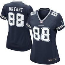 2016 Women Dallas Cowboys #9 Tony Romo #88 Dez Bryant #82 Jason Witten Blue white #21 Ezekiel Elliott, stitched logo(China (Mainland))