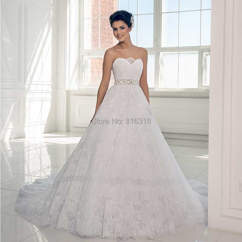 ... Wedding Dress With Beaded Sash China Robe de Mariee Bridal Wedding