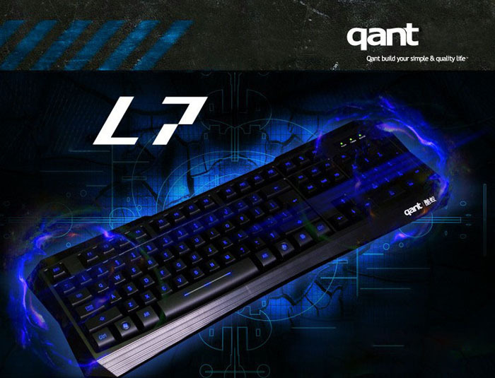 New Blu-ray LED Illuminated USB Wired Silent Gaming Keyboard For PC Laptopn Tonsee(China (Mainland))
