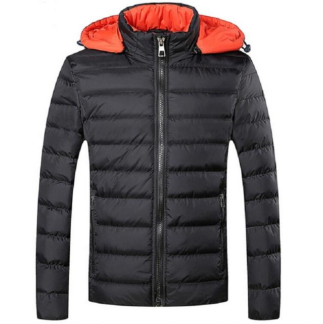 Мужчины зимний пуховик нейлон теплый пальто размер m-5xl спортивная одежда открытый ...
