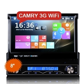 "Erisin ES1088M 7"" Detachable 1Din Car Stereo GPS/DVD/USB/SD 3G Radio 1080P DVR-IN DTV-IN"