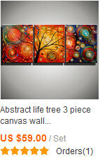 3 piece canvas wall art abstract modern flower acrylic floral knife wall picture handmade oil painting on canvas living room