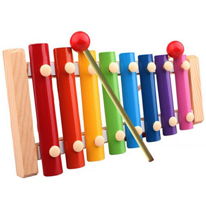 Puscard Baby Kid Musical Toys Xylophone Wisdom Development Wooden Instruments(China (Mainland))