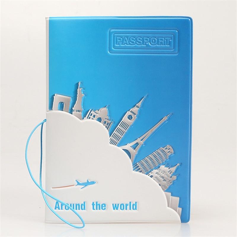 Around the world passport cover