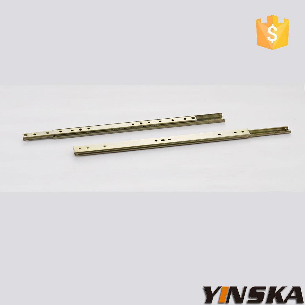 solf cloing metal drawer slides rail, dresser drawer slides(China (Mainland))