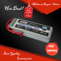 Free Shipping HRB Wholesale Price 14.8V 6000mah 50C Max 60C Toys & Hobbies For Helicopters RC Models Li-polymer Battery