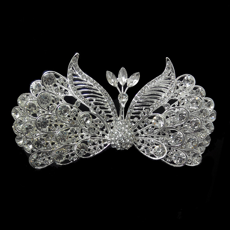 2014 hot promo gatsby tiara wedding hair crown Vintage bridal crystal woman jewelry XB45 - Kay's Wedding store