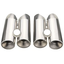 2016 New Pair Exhaust Muffler Tip Tail Pipe for Mercedes-Benz S280 S320 S350 S400 S430(China (Mainland))