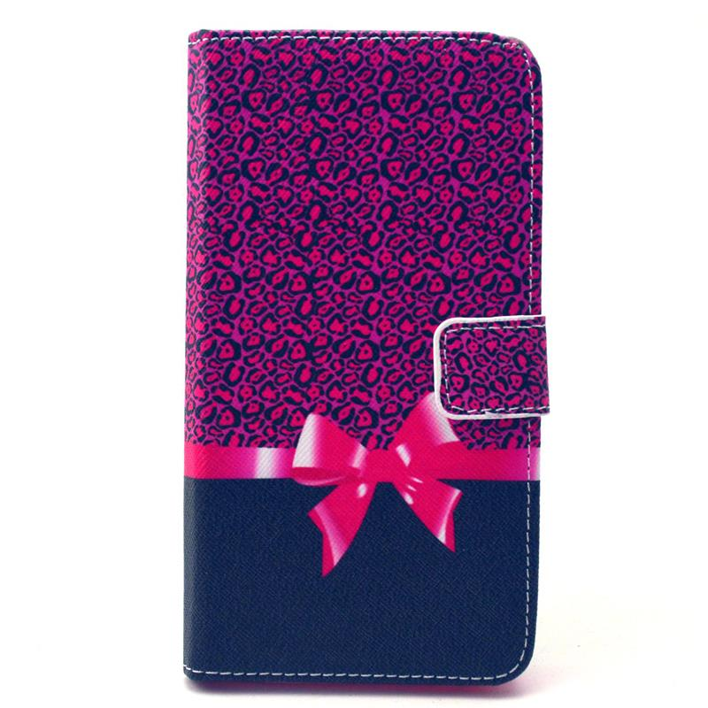 30 pcs/lot Retro Landscape Wallet Leather Case Card Slot Stand WIKO RAINBOW