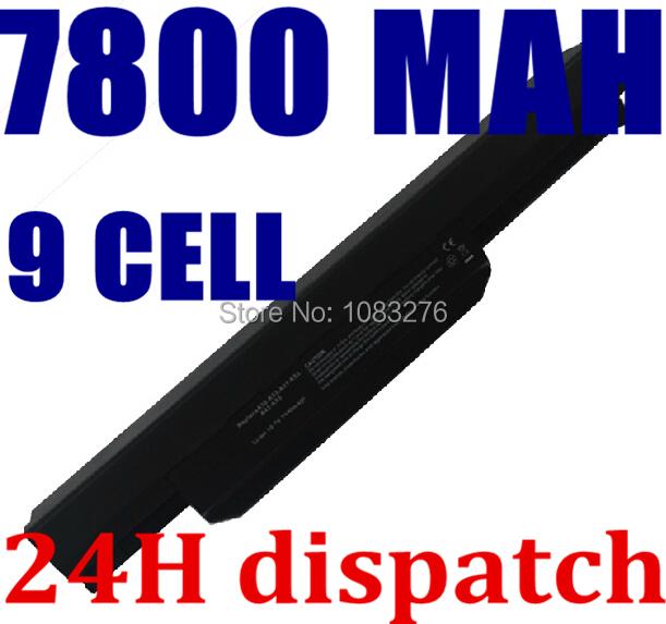 7800mah laptop battery A32-K53 for Asus A43E A53S K43E K43U K43S X54 X54H K43SJ X54C X84 K53S K53 K53SV K53T K53E K53SD X44H(China (Mainland))