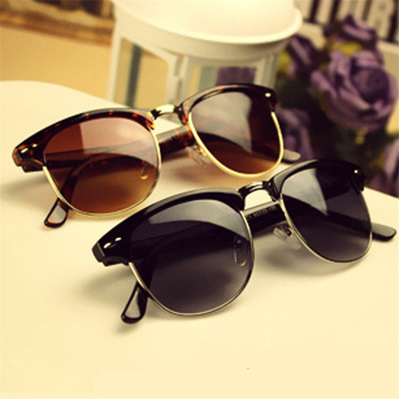 2016 Hot Fashion Eyewear Vintage Retro Unisex Sunglasses Women Brand Designer Men Sun Glasses 5 Colors Oculos De Sol Feminino Y5