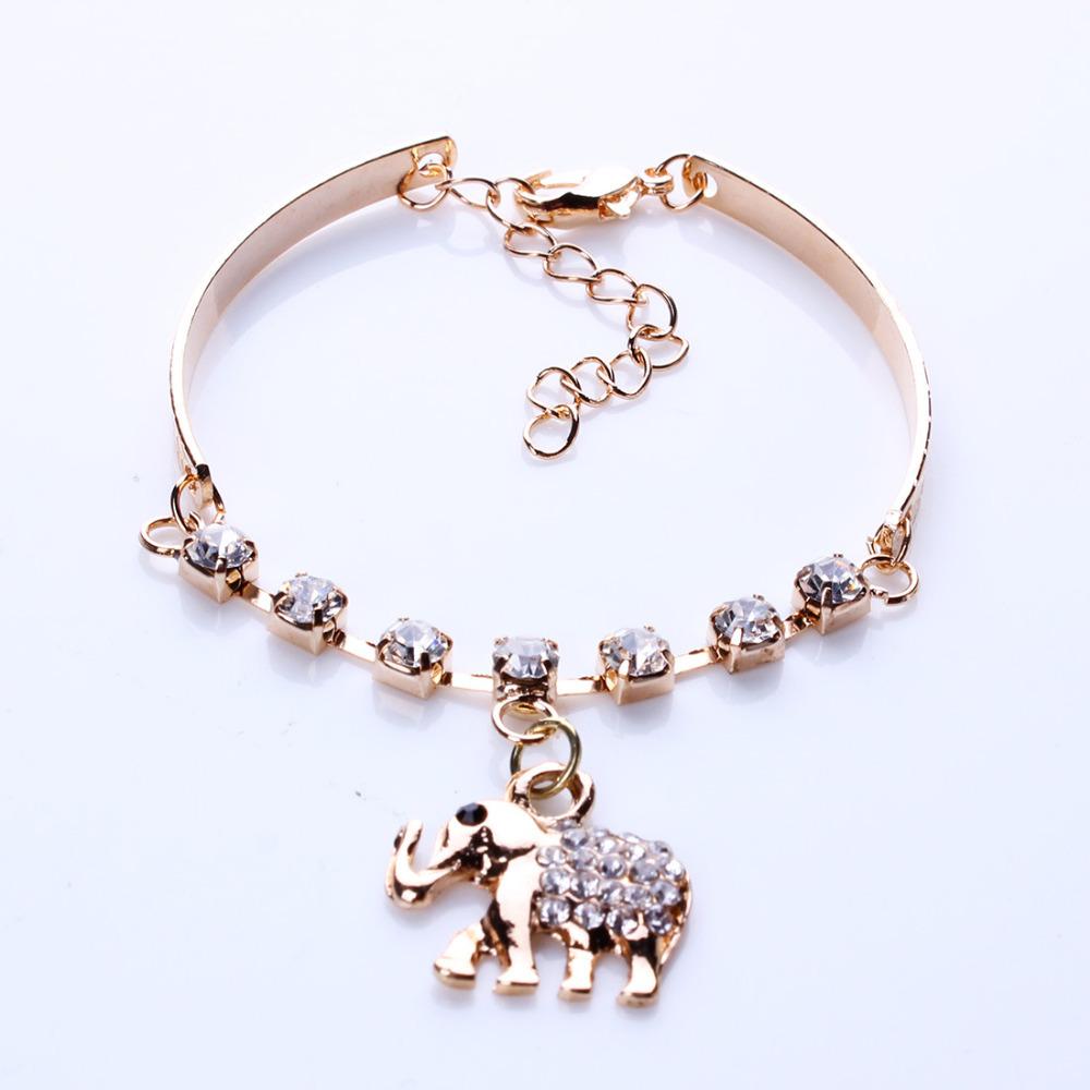 Crystal Bracelet Online Crystal Elephant Bracelet