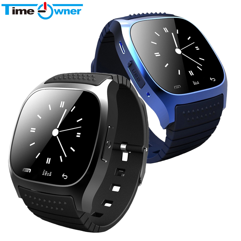 Sport Bluetooth Smart Watch Luxury Wristwatch M26 with Dial SMS Remind Pedometer for IOS Android Samsung Phone(China (Mainland))