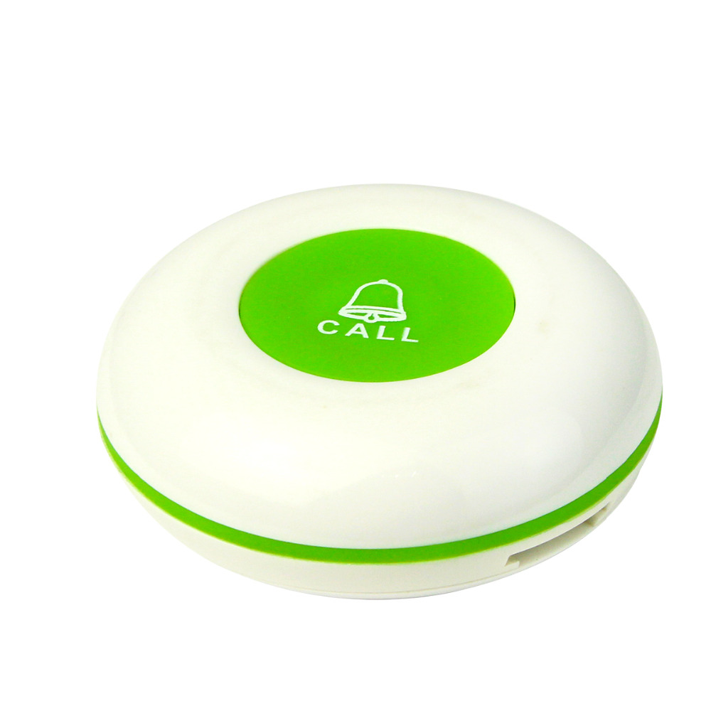 Wireless Restaurant Pager Button Service Call Transmitter Button for Paging System Waterproof 433MHz F3253(China (Mainland))